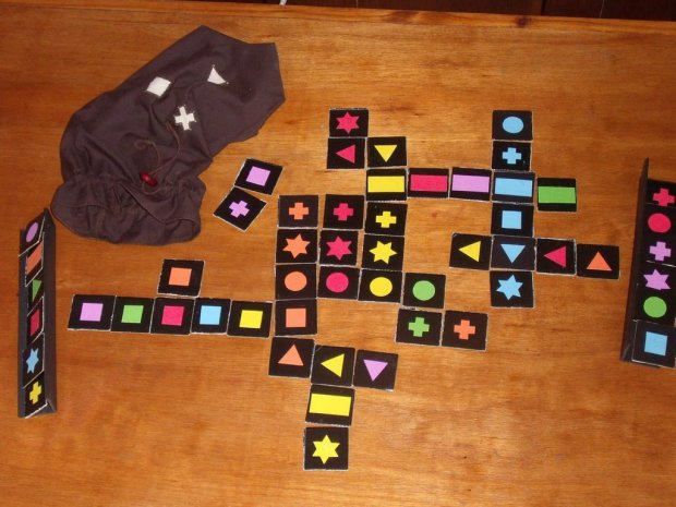 Diy Qwirkle game