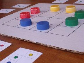 Triovision board game