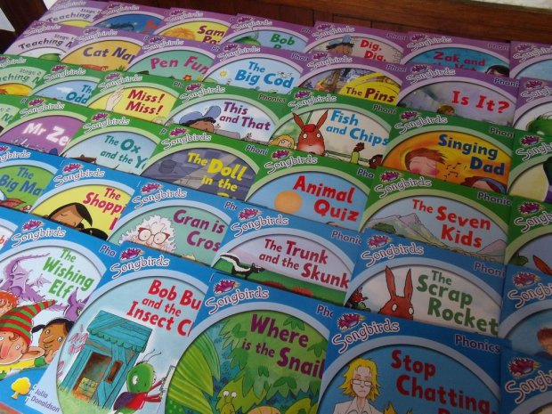 Songbirds phonics books by Julia Donaldson
