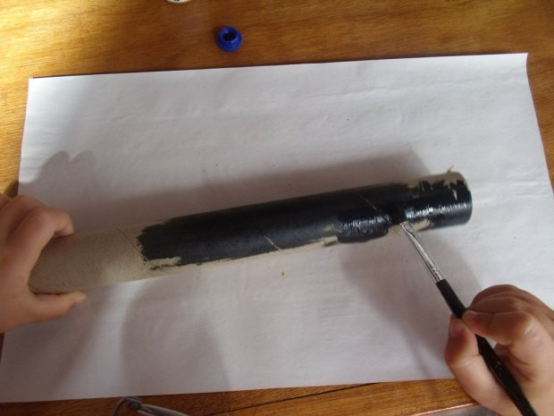 Painting the Pirate Spyglass